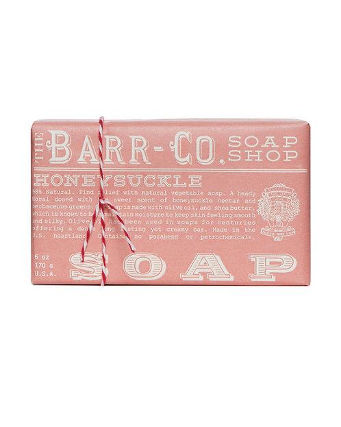 HONEYSUCKLE TRIPLE MILLED BAR SOAP