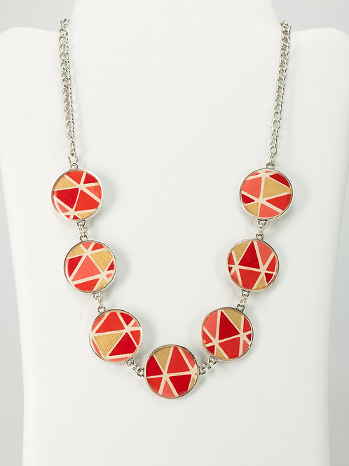 Gold Pyramid - Necklace