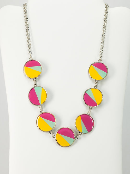Mod Geometric- Necklace