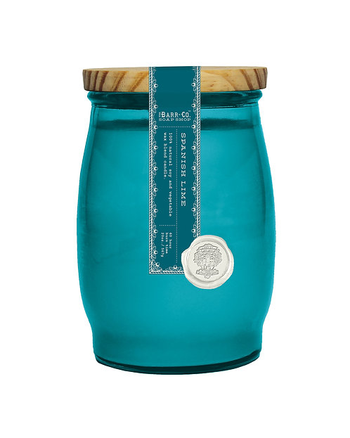 SPANISH LIME BARREL CANDLE