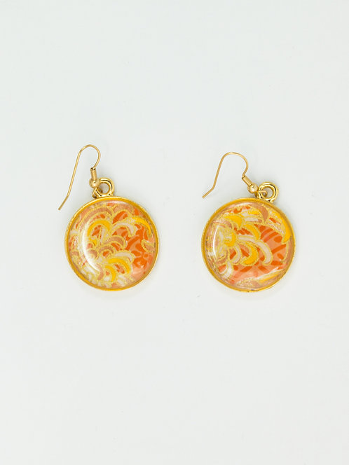 Daisy Petals in Gold - Earring
