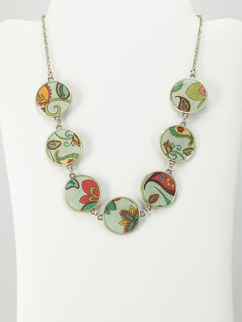 Paisley Whimsical - Necklace