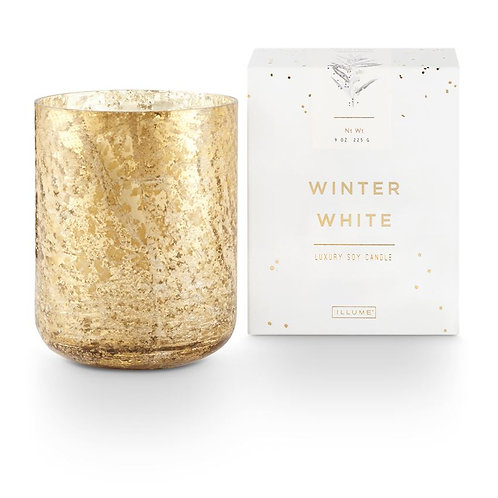 SMALL LUXE MERCURY CANDLE - WINTER WHITE