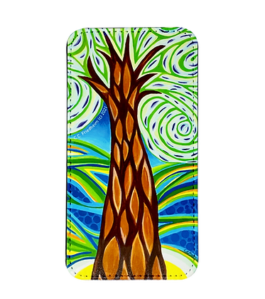 iPhone 11 Wallet Case - Green Tree