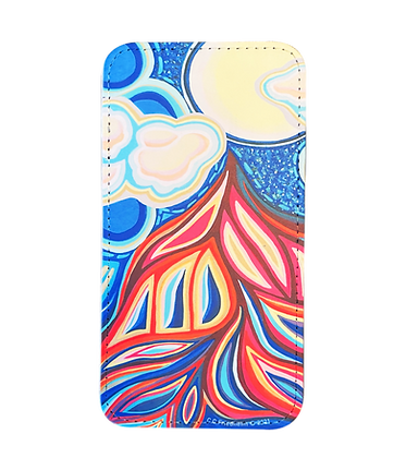 iPhone 12 / 12 Pro Wallet Case - Pull of the Moon