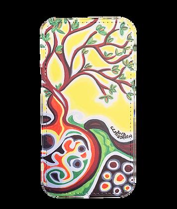 Samsung Galaxy S21 Wallet Case - Yellow Tree