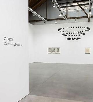 Artist Zarina Hashmi Exhibitions