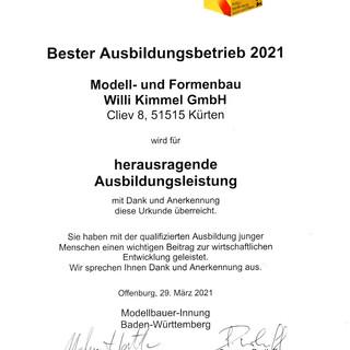Willi_Kimmel_GmbH_Bester_Ausbildungsbetr