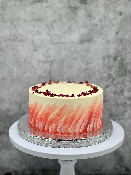 Raspberry Rose Cake