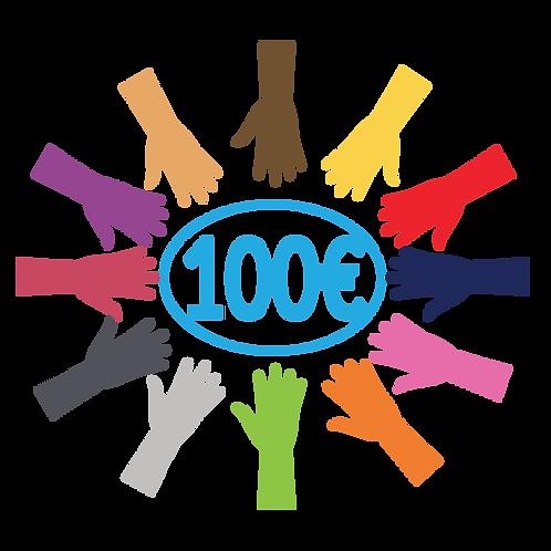 Don de 100 euros