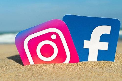 Campagne publicité Facebook & Instagram (par semaine)