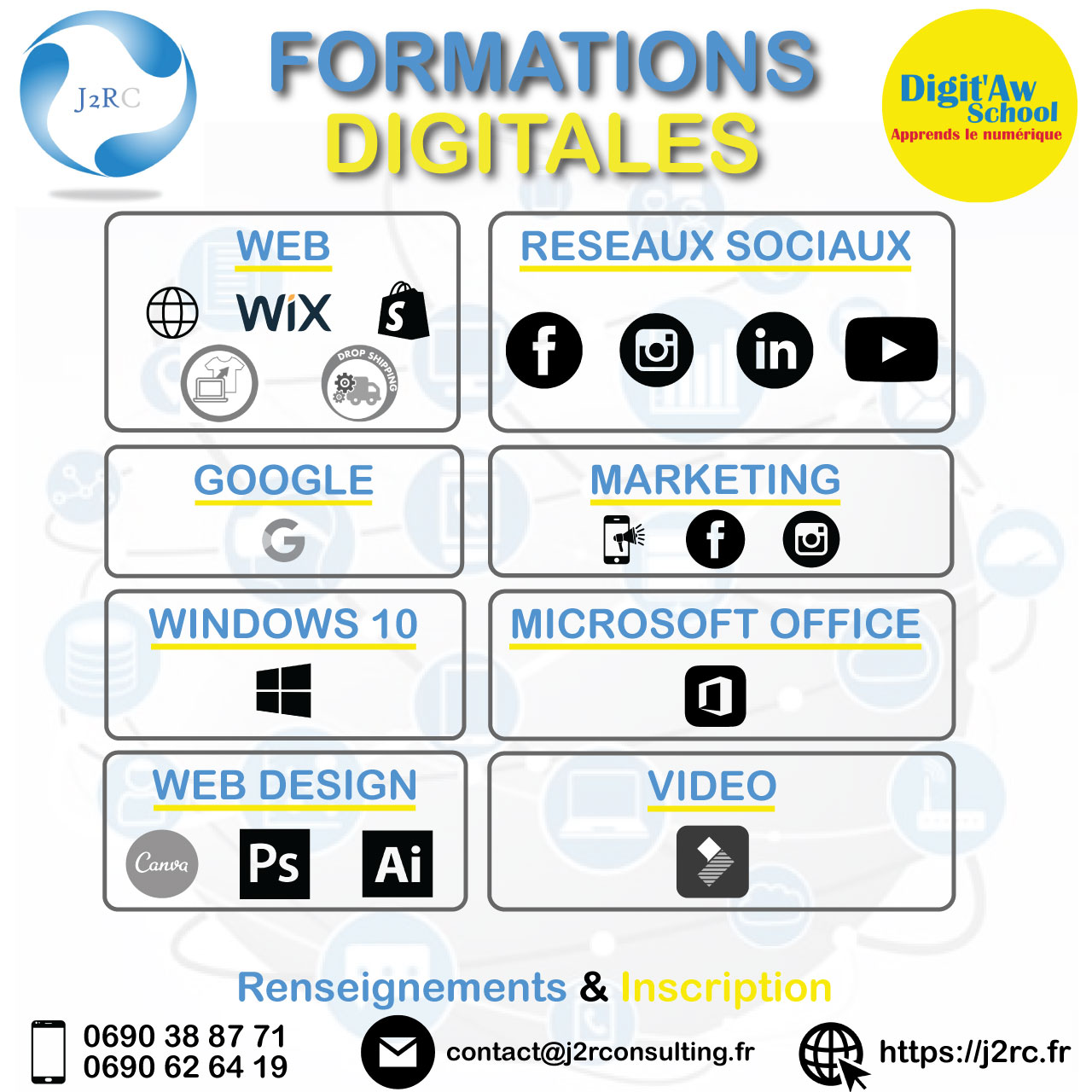 FORMATIONS DIGITALES