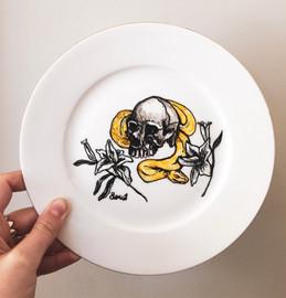 Python and Skull