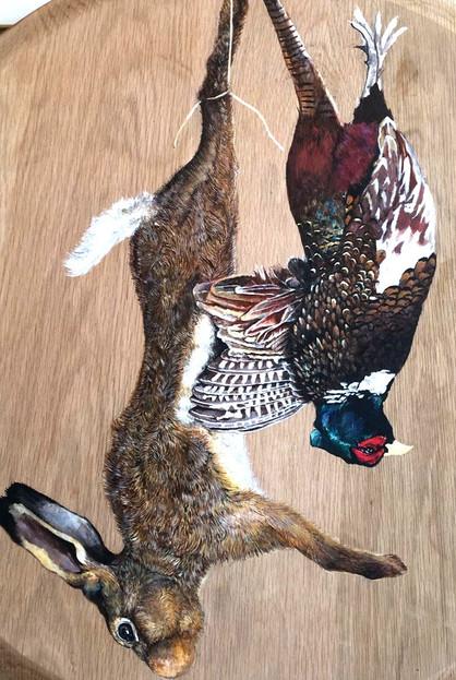 Hare & Pheasant- commission