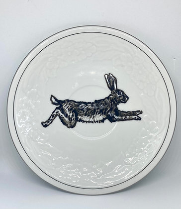 Hare running (facing right)