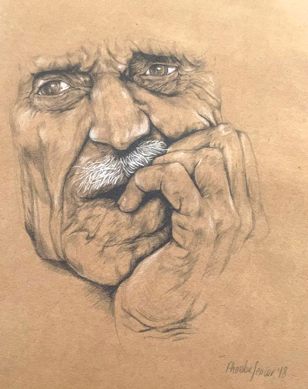 Old Man face- commission