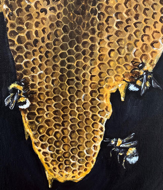 Buzzy bees and comb- Commission