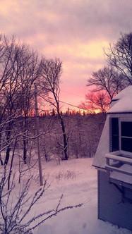 Our Pink Skies Acadia