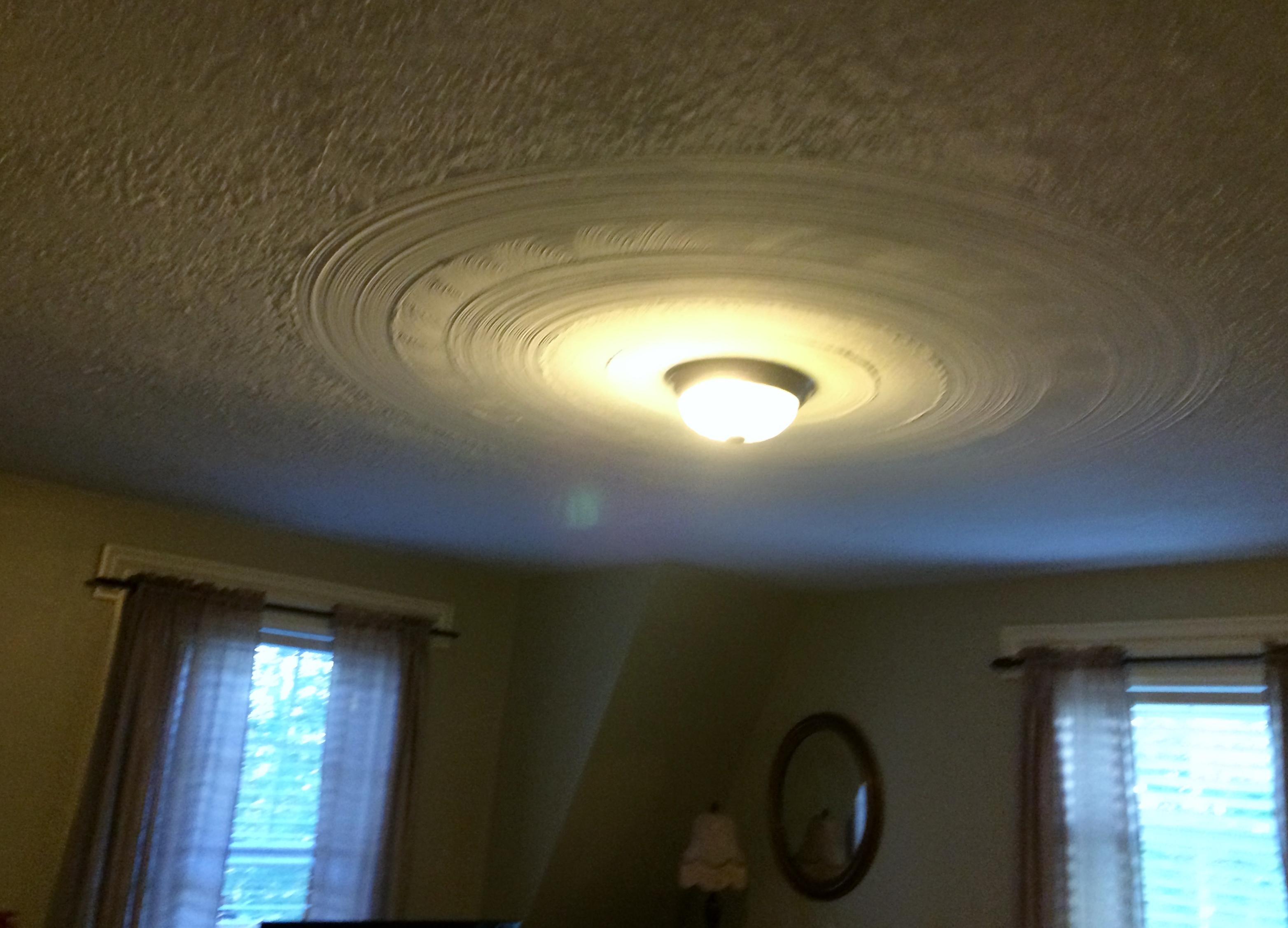 Heathwood Inn's decorative ceilings