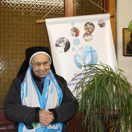 Esta fue quizás, la última entrevista que dio la Hermana Nazarena