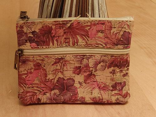 Cork change purse credit card holder