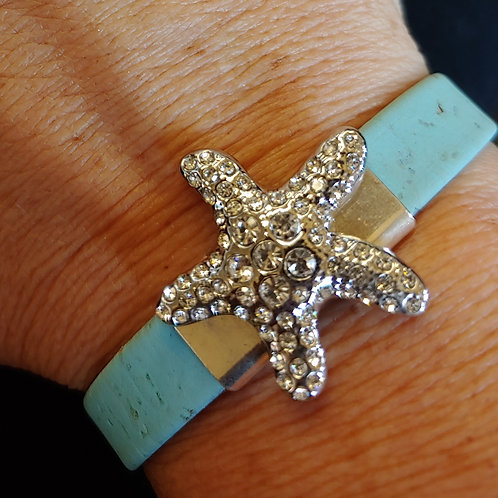 Starfish Cork Bracelet