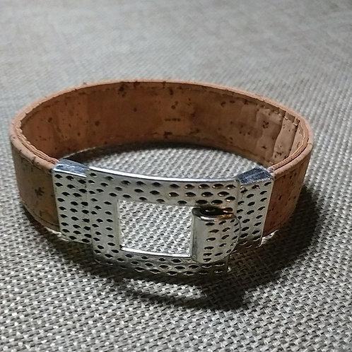 Cork Bangle Bracelet