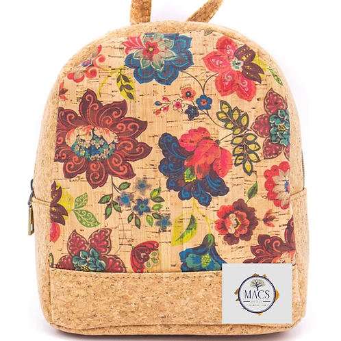 Small cork backpack