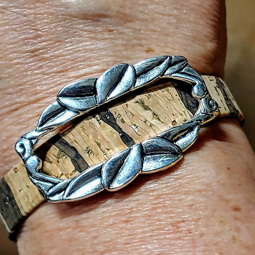 Tiger Cork Bracelet
