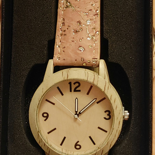 Unisex Cork Band Watch