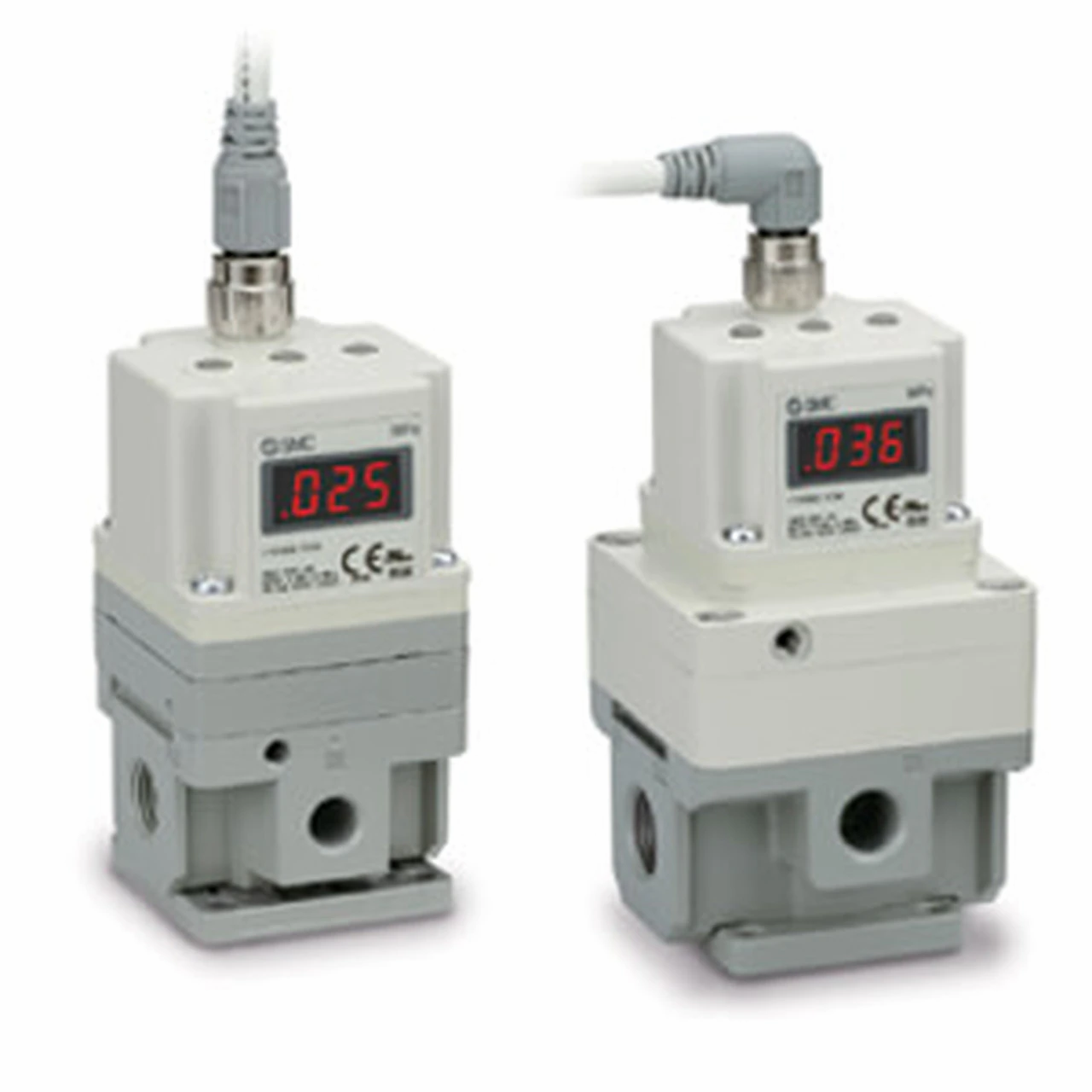 ELECTRO-PNEUMATIC CONTROLLERS