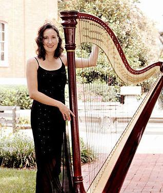 Maryland wedding harp music