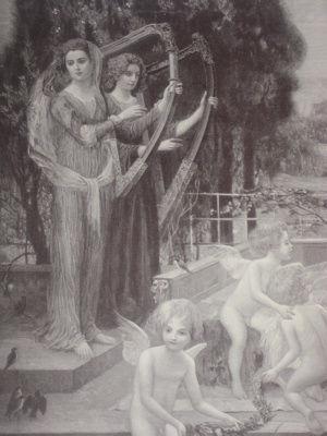 maryland funerals memorial harp music