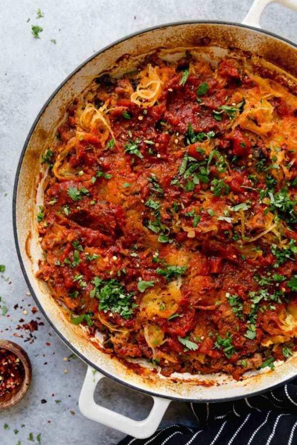 Grain-Free Spaghetti Pie