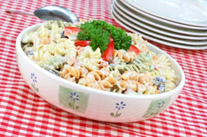 Pasta Salad healthy meals