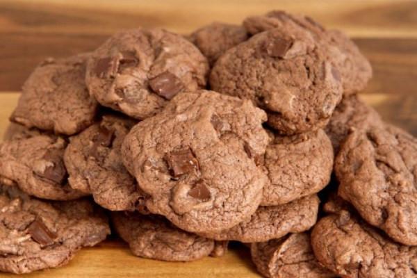 Cherry Double Chocolate Cookies