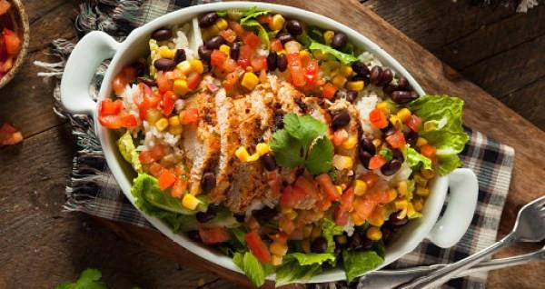 Southwest Grilled Chicken Salad Date Night Dinner Ideas