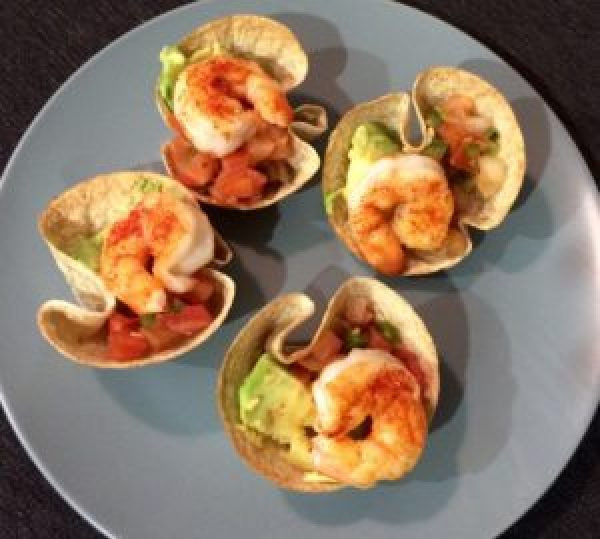 Shrimp Taco Bites Mexican Recipes