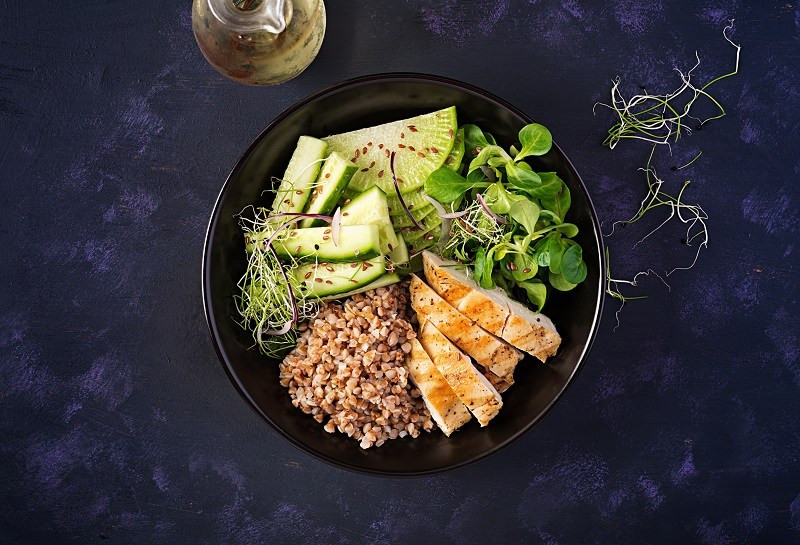 healthy power bowl