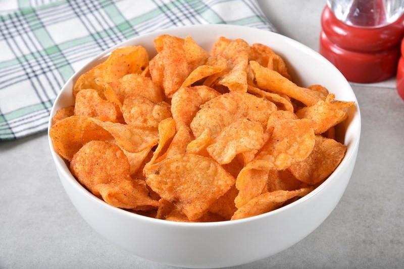 healthy sweet potato bbq chips