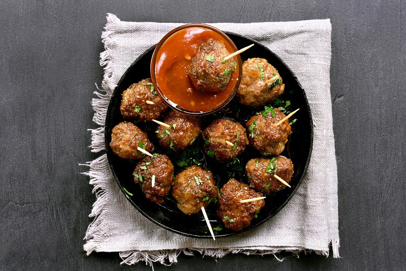 Chipotle Turkey Meatballs