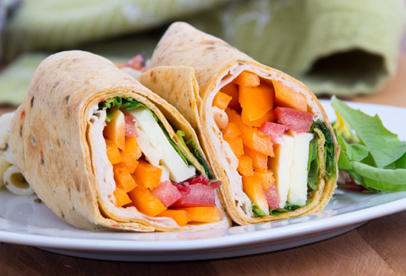 turkey and goat cheese wrap sandwich recipes