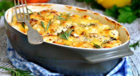 healthy casserole chicken fajita bake