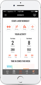 Fitmetrix Workout Tracker Image