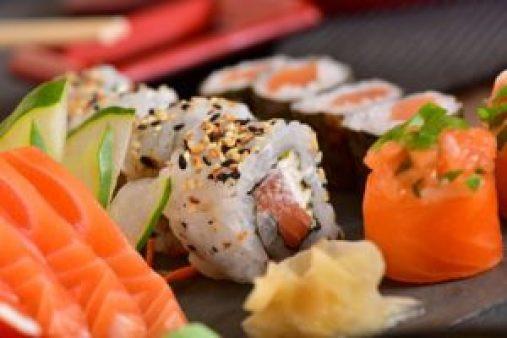 everything breakfast sushi