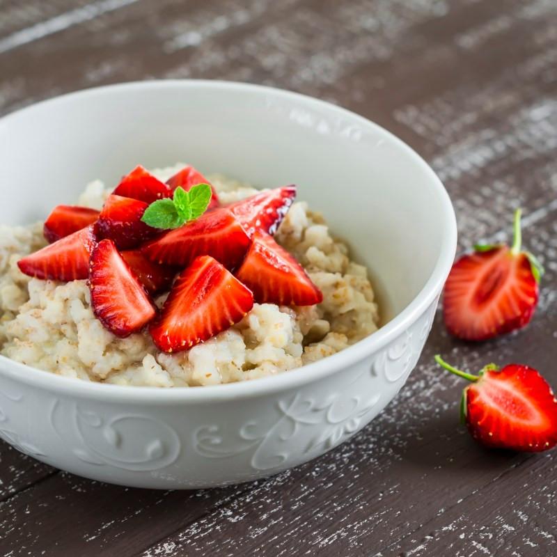 Overnight Strawberry Oatmeal Recipe