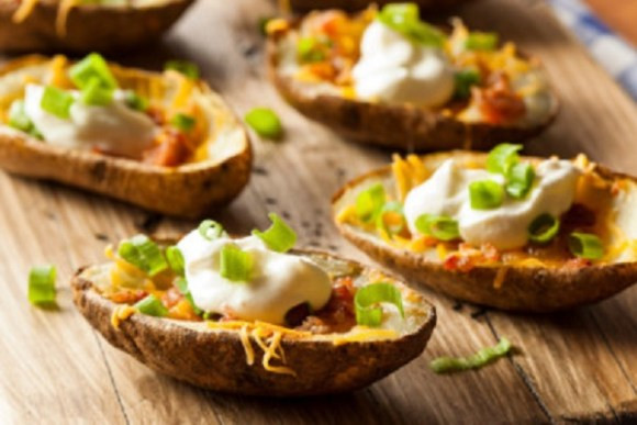 Quick Appetizers for Parties People Rave About Very Delicious Loaded Potato Skins