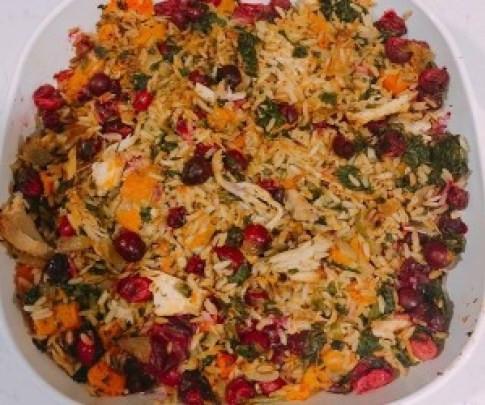 Healthy Casserole - Thanksgiving Leftover Casserole
