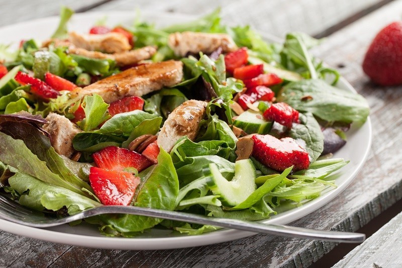 Balsamic Salad healthiest foods to order
