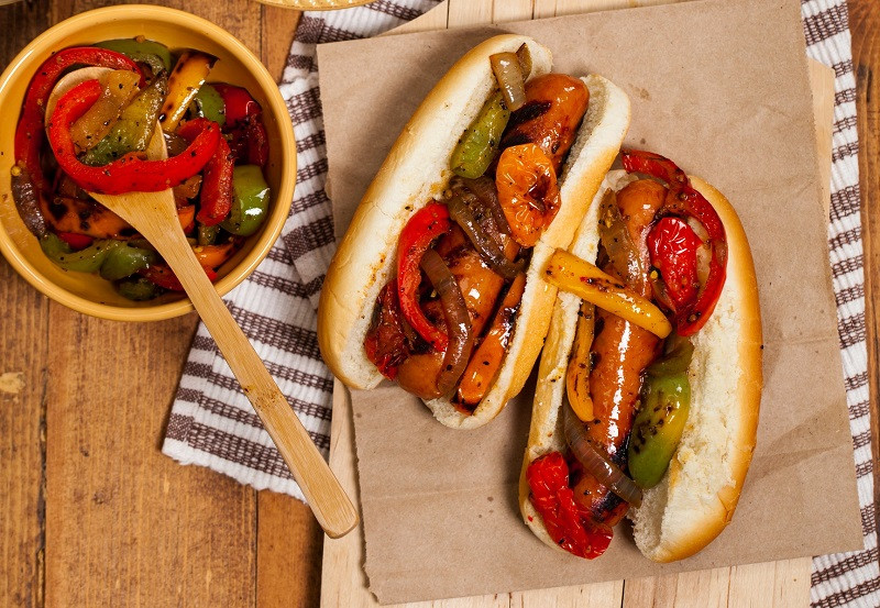 Sausage and Pepper